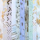 Набор бумаги для скрапбукинга «Базовый 2», 10 листов, 15.5 × 15.5 см