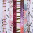 Набор бумаги для скрапбукинга «Оттенки розового», 10 листов, 15.5 × 15.5 см