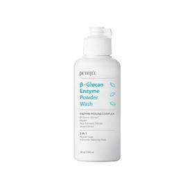Энзимная пудра для умывания Petitfee B-Glucan Enzyme Powder Wash, с бета-глюканом, 80 г