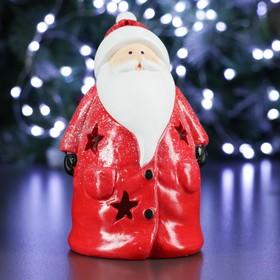 """Фигура с подсветкой """"Дед Мороз"""" 11х9х15см"""