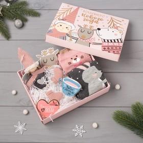 """Подарочный набор KAFTAN """"Волшебного нового года"""" носки р, 36-39 (23-25 см), ёлочная игрушка   431046"""