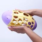 Развивающая игрушка - погремушка «Мяч овал», эластичный - фото 105528198