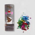 "Firecracker rotary ""happy New Year"" (confetti+foil streamer) 11 cm"
