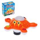 Развивающая игрушка «Морская звезда», двигается, вращается на 360 градусов, световые и звуковые эффекты, МИКС - фото 105500001