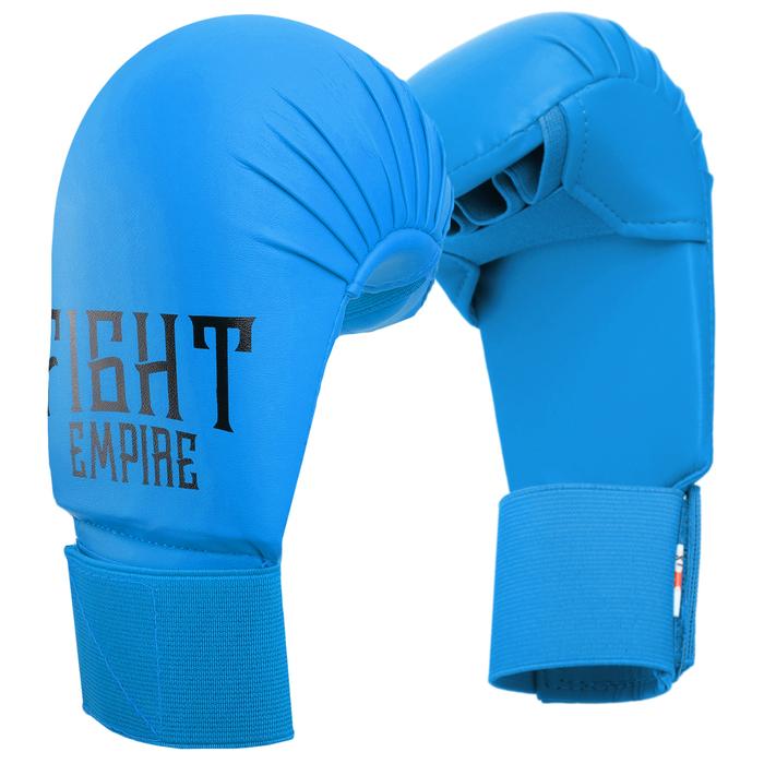 Перчатки снарядные FIGHT EMPIRE, размер M, цвет синий