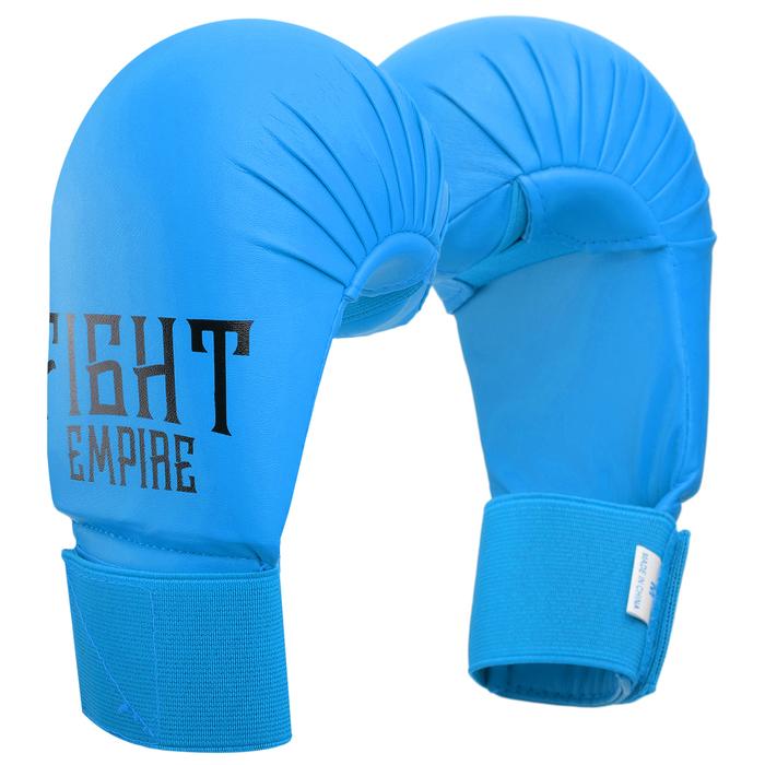 Перчатки снарядные FIGHT EMPIRE, размер XL, цвет синий
