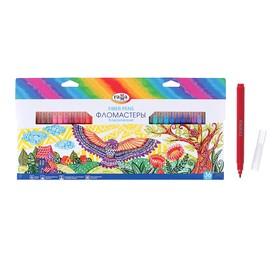 Фломастеры 36 цветов, «Гамма» «Классические», в картонной коробке