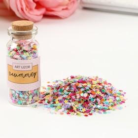 """Glitter in the jar """"Star mix"""", 5 x 2 x 2 cm"""