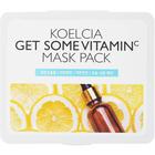Тканевая маска для лица Koelcia, с витамином С, 30 шт.