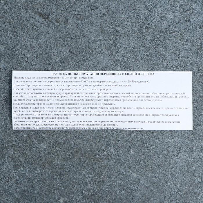 Органайзер плоский, 5 секций, 51*17*2см - фото 537629989