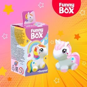 Набор для детей Funny Box «Пони», набор: радуга, инструкция, наклейки, МИКС