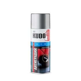 Антигравий KUDO, 520 мл, белый, аэрозоль