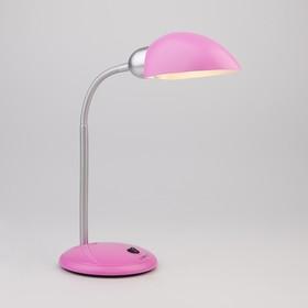 Настольная лампа Confetti 1x15Вт E27 хром, розовый