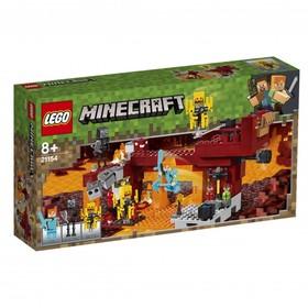 Конструктор Lego Minecraft «Мост ифрита», 372 детали