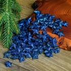 """Фигурка для поделок и декора """"Звезда"""", набор 80 шт., размер 1 шт. 1,5×1,5×1 см, цвет синий"""