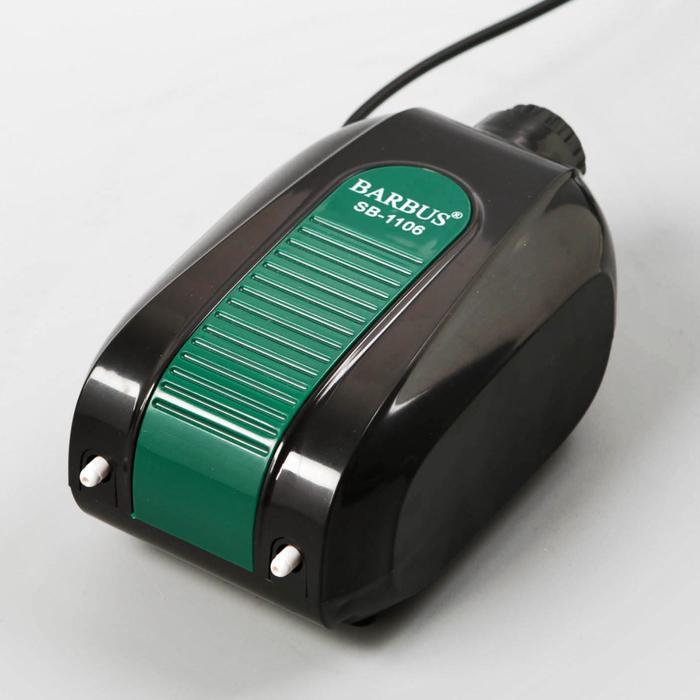 Воздушный компрессор AIR 015 с низким уровнем звука, 2 Х 4,5 л/м  5,8ватт