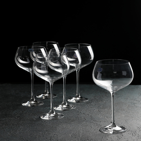 Набор бокалов для вина Bohemia Crystal «Меган», 500 мл, 6 шт