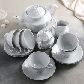 Сервиз чайный на 6 персон Maria-teresa, 15 предметов