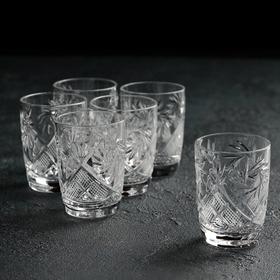 Набор стопок для вина НЕМАН «Мельница», 50 мл, 6 шт