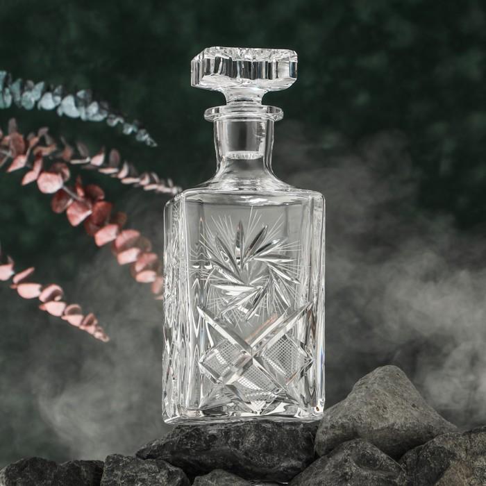 Графин для виски «Мельница», 750 мл - фото 442034