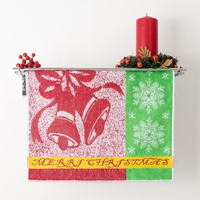 Terry towel Privilea Merri Christmas 50x50 cm, 100% cotton