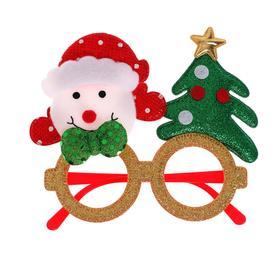 Карнавальные очки «Снеговик с ёлочкой» в Донецке