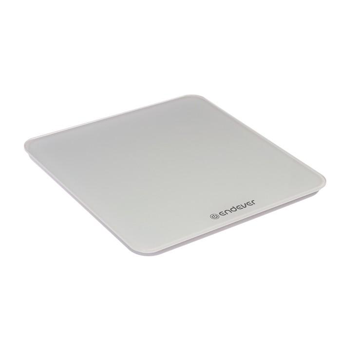 Весы напольные Endever Aurora-603, электронные, до 180 кг, белые