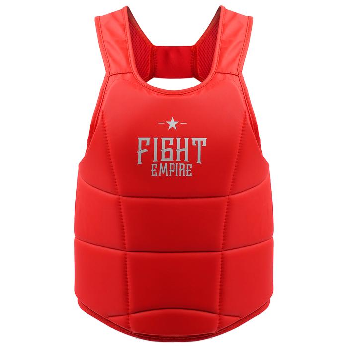 Жилет защитный FIGHT EMPIRE, размер L, цвет красный