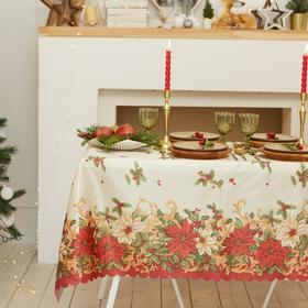 "Tablecloth Share ""Christmas mood"" 145×300 cm, 100% p/e"