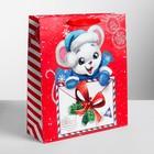 Пакет ламинированный вертикальный «Почта мышки», M 26 × 30 × 9 см