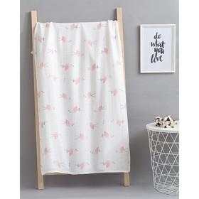 Пелёнка Крошка Я «Фламинго» 75х120 см