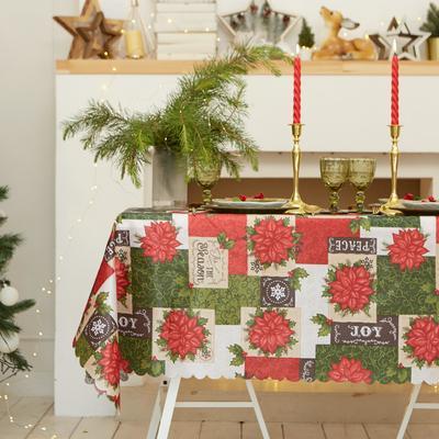 """Tablecloth Share """"Love"""" 110×145 cm, 100% p/e"""