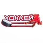 Медальница «Хоккей» 30 х 10 см