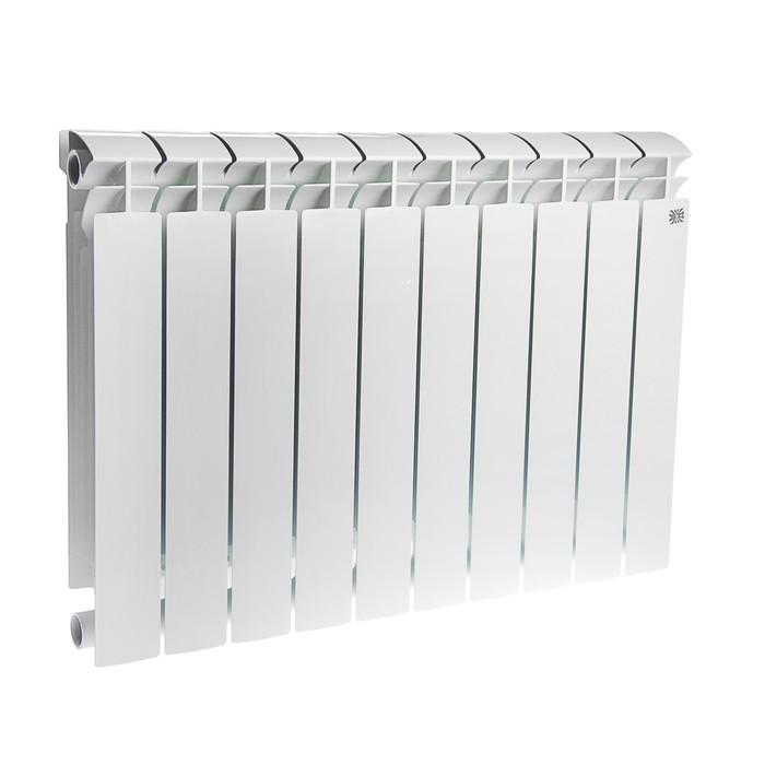 Радиатор биметаллический STI MAXI, 500х100 мм, 10 секций