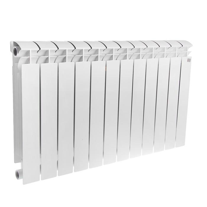 Радиатор биметаллический STI MAXI, 500х100 мм, 12 секций