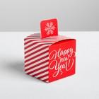 Бонбоньерка Happy New Year, 6 × 6 × 6 см