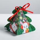 Бонбоньерка «Новогодние игрушки», 12 × 8 × 8 см