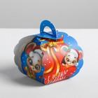 Бонбоньерка «Мышка с подарком», 7 × 8 × 10 см