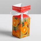 Бонбоньерка «Яркого и весёлого Нового года», 4.5 × 4.5 × 12 см