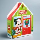 Подарочная коробка «С Новым Годом!», Микки Маус и друзья, 15 х 11 х 5 см