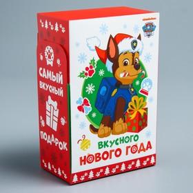 Подарочная коробка «С Новым Годом!», PAW PATROL, 10 х 16 х 6 см
