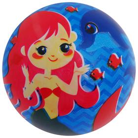 Мяч детский «Дельфин и Русалка», d=22 см, 60 г