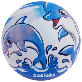 Мяч детский «Дельфины», d=22 см, 60 г