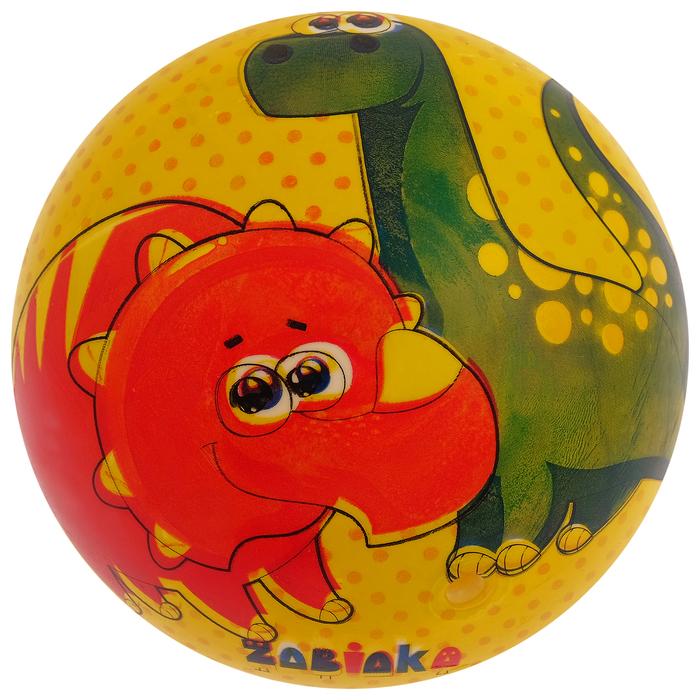 Мяч детский «Динозаврики», d=22 см, 60 г