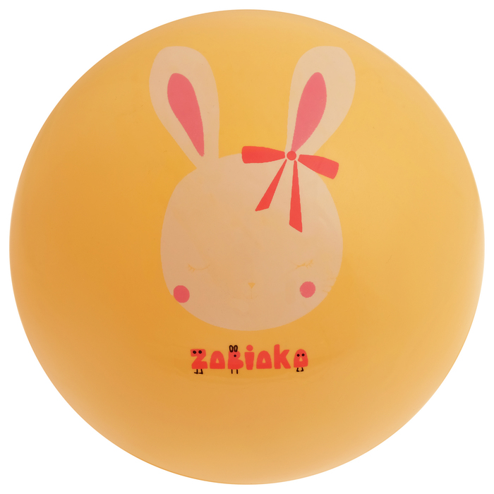 Мяч детский «Заяц», d=22 см, 60 г