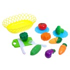 Набор продуктов для нарезки «Фруктики», в корзинке, МИКС - фото 105579642