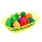 Набор продуктов для нарезки «Фруктики», в корзинке, МИКС - фото 105579644