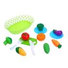 Набор продуктов для нарезки «Фруктики», в корзинке, МИКС - фото 105579645