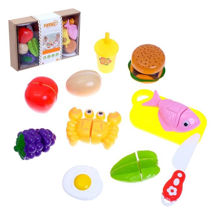 Набор продуктов для нарезки «Вкусный обед», на липучках - фото 999851