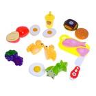 Набор продуктов для нарезки «Вкусный обед», на липучках - фото 999852
